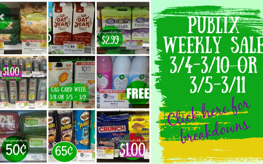 Sneak Peek Publix Weekly Sale 3/4-3/10 or 3/5-3/11
