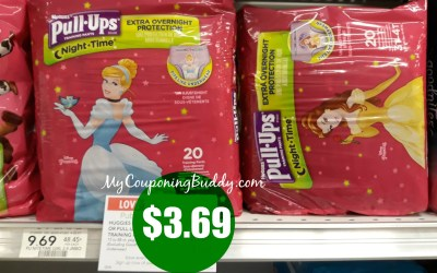 New Digital Coupon ~ Pull Ups just $3.69 at Publix