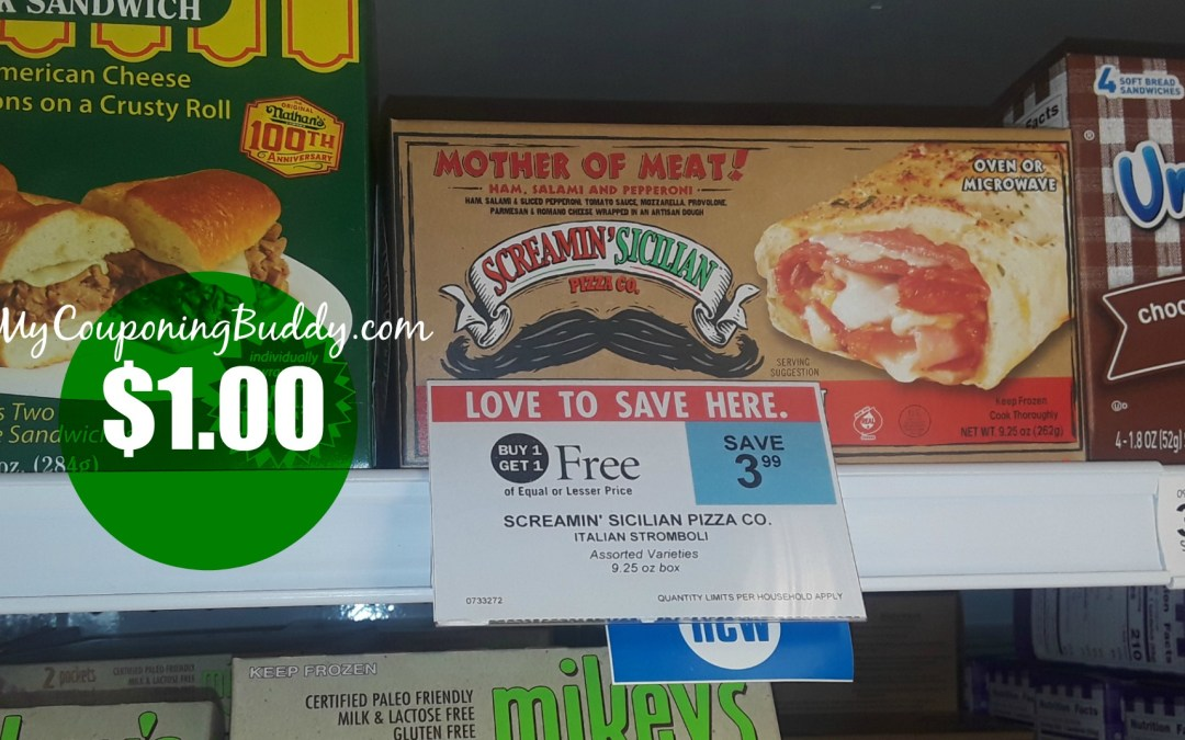 Screamin Sicilian Stromboli $1 at Publix