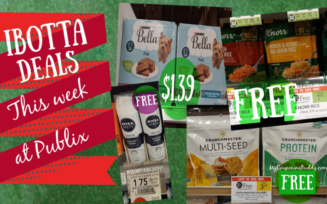 Lots of Ibotta Cheap or FREEEBIE Deals this week at Publix