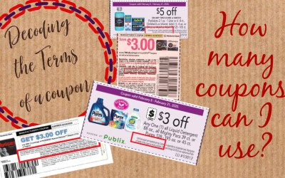 Decoding Coupon Terms and  Limits: What does the fine print mean