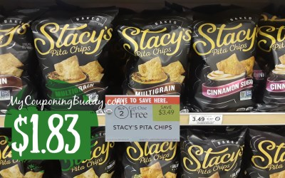 Stacy's Pita Chips $1.83 at Publix