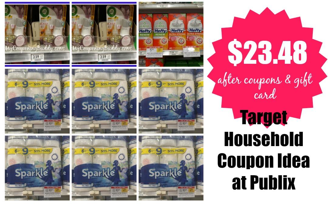 Target Household Coupon Deal Idea at Publix