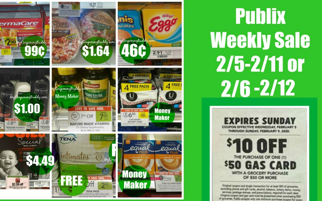 Publix Best Deals of the Weekly Sale 2/5-2/11 or 2/6-2/12
