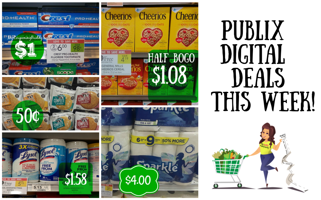 5 Publix Digital Deals you can do this week