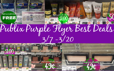 Publix Purple Flyer Best Deals 3/7 – 3/20