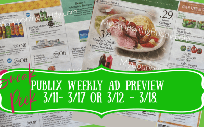 Sneak Peek of Publix Weekly Sale 3/11- 3/17 or 3/12 – 3/18
