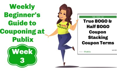Beginner's Guide to Couponing at Publix: Week 3