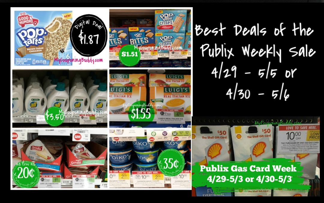 Publix Weekly Sale 4/29 – 5/5 or 4/30 -5/6