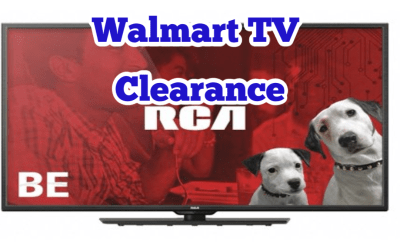 HUGE TV Clearance NOW at Walmart