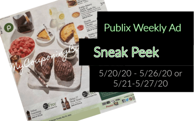 Publix Ad Preview 5/20/20 – 5/26/20 (or 5/21-5/27/20 for some)