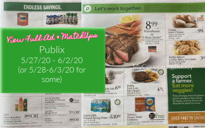 Full Ad & Match Ups Publix Weekly Sale 5/27/20 – 6/2/20 (or 5/28-6/3/20 for Some)