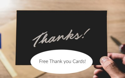 Free Thank You Cards for Everyday Heroes