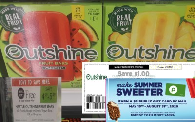 I scored some Outshine Coupons!
