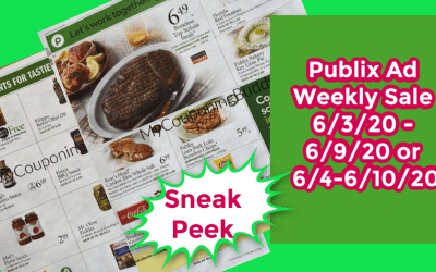 Sneak Peek of the Publix Weekly Ad 6/3/20 – 6/9/20 or 6/4-6/10/20