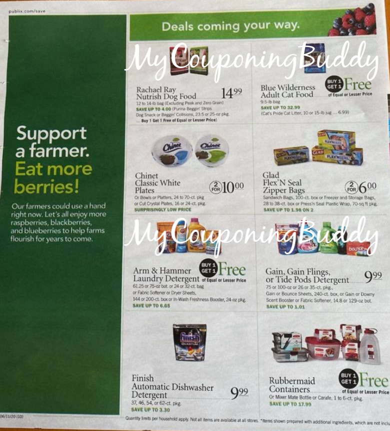 Publix Weekly Sale 6/10 – 6/16 or 6/11 – 6/17