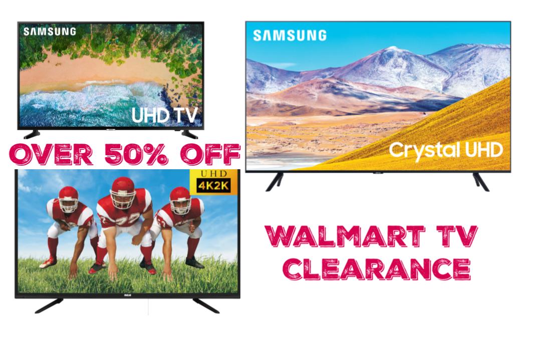 Walmart TV CLearance
