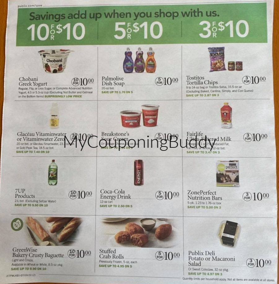 Publix Sneak Peek 7/8/20 – 7/14/20 (or 7/9-7/15/20 for some)