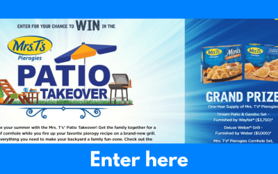 Mrs. T's Pierogies Mrs. T's Patio Takeover Sweepstakes