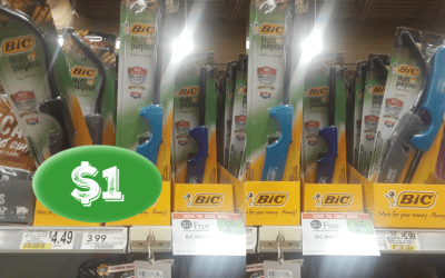 BiC Multipurpose Lighters $1 at Publix