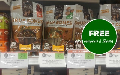 Rachael Ray Soup Bones FREE after coupons & ibotta at Publix