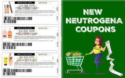 New NEUTROGENA Printable coupons