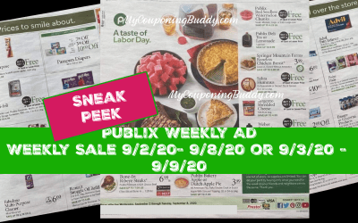 Early Ad Preview Publix Weekly Sale 9/2/20- 9/8/20 or 9/3/20 – 9/9/20