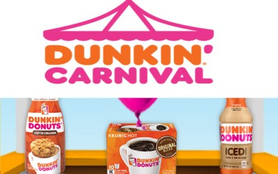 Enter for a Chance to Win $10,000 from Dunkin Donuts + 42,051 Instant Winners