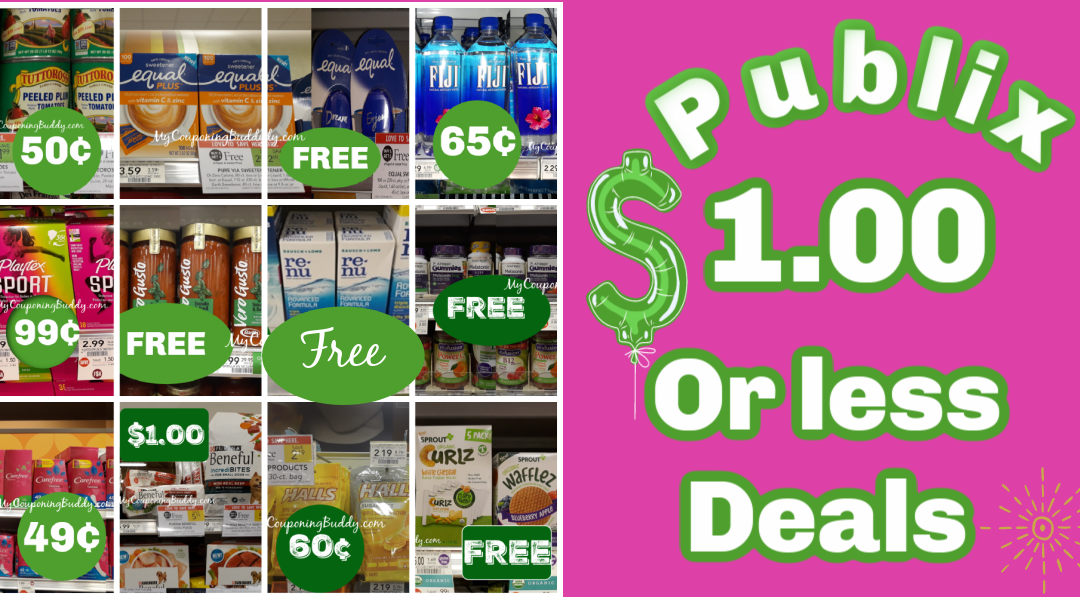 Publix Deals: $1 or Less Deals