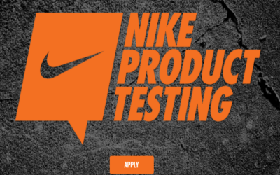 Free Nike Products ~ Apply to be a Nike Product Tester