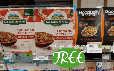 FREE Cereals at Publix this week!