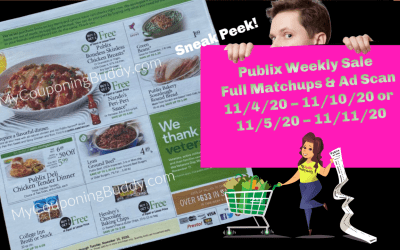 Publix Ad Preview Weekly Sale 11/4/20 – 11/10/20 or 11/5/20 – 11/11/20