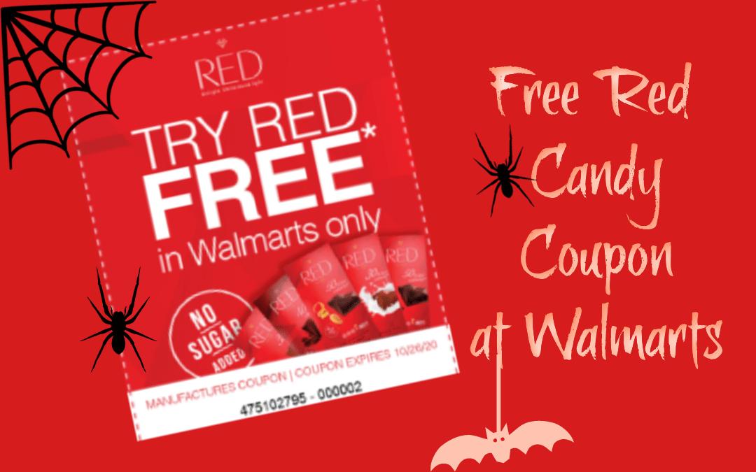 FREE Red Coupon at Walmart