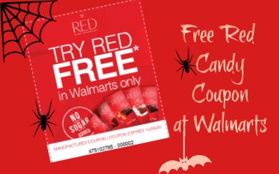 FREE Red candy coupon at Walmarts