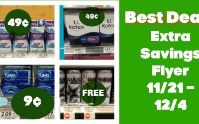 Publix Extra Savings Flyer 11/21/20 -12/4/20