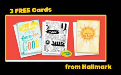 3 FREE Greeting Cards from Hallmark
