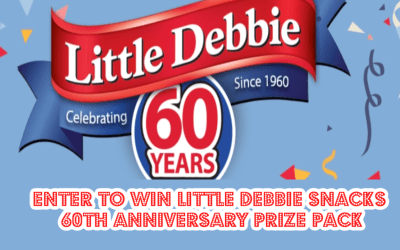 Enter for a chance to win Little Debbie snacks 60th Anniversary prize pack