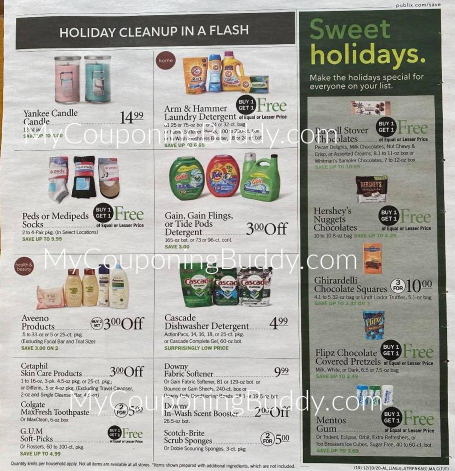 Publix Ad Preview 12/9/20 – 12/15/20 or 12/10-12/16/20