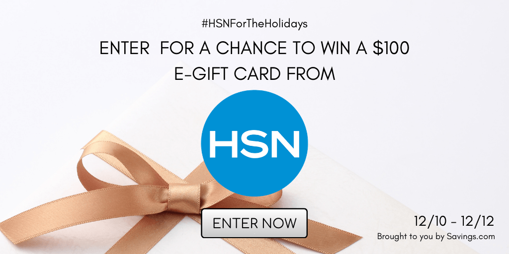 Enter for a Chance to Win $100 from HSN
