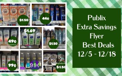 Publix Extra Savings Flyer  Best Deals 12/5/2020 – 12/18/2020