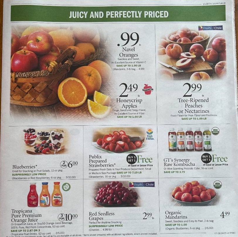 Publix Ad Preview 1/13/21 – 1/19/21 OR 1/14 – 1/20/21  10