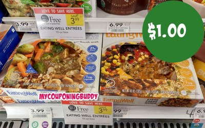 Eating Well Frozen Dinners $1 at Publix