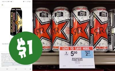 RockStar Energy Drinks $1 at Publix