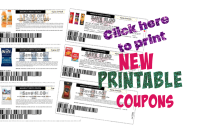 Click here to Print Great New Printable Coupons