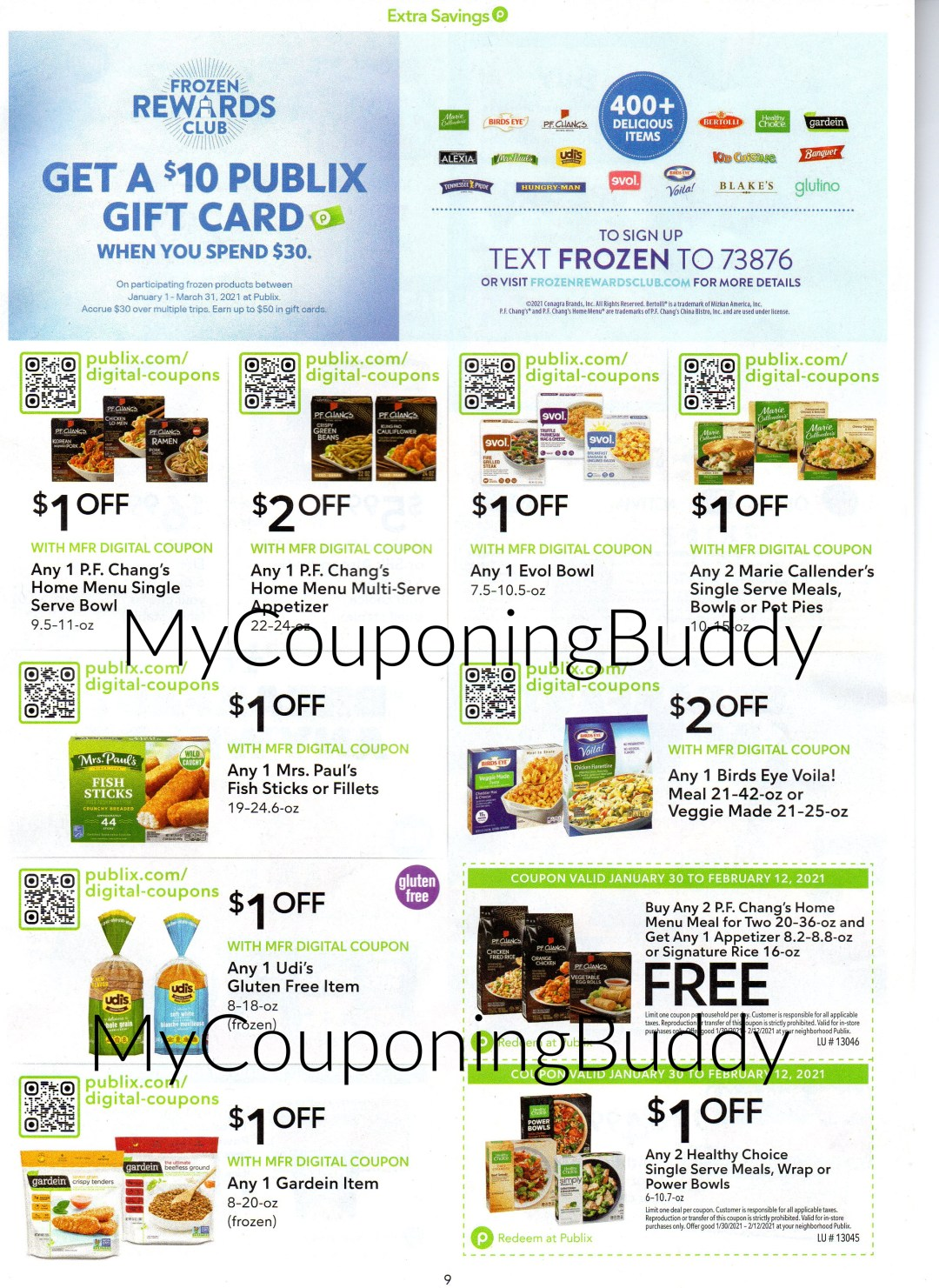 (Publix Coupon) Extra Savings Flyer (valid 1/30/21-2/12/21