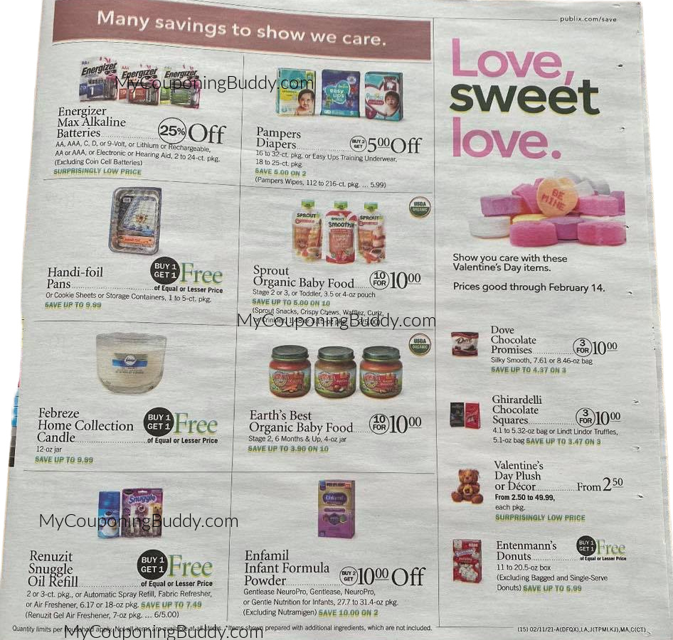 Publix Weekly Sale 2/10/21 - 2/16/21 OR 2/11/21 - 2/17/21
