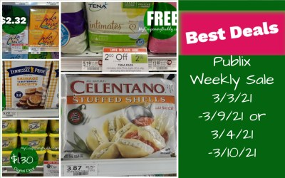 Best Deals ~ Publix Weekly Sale 3/3/21 -3/9/21 or 3/4/21 -3/10/21