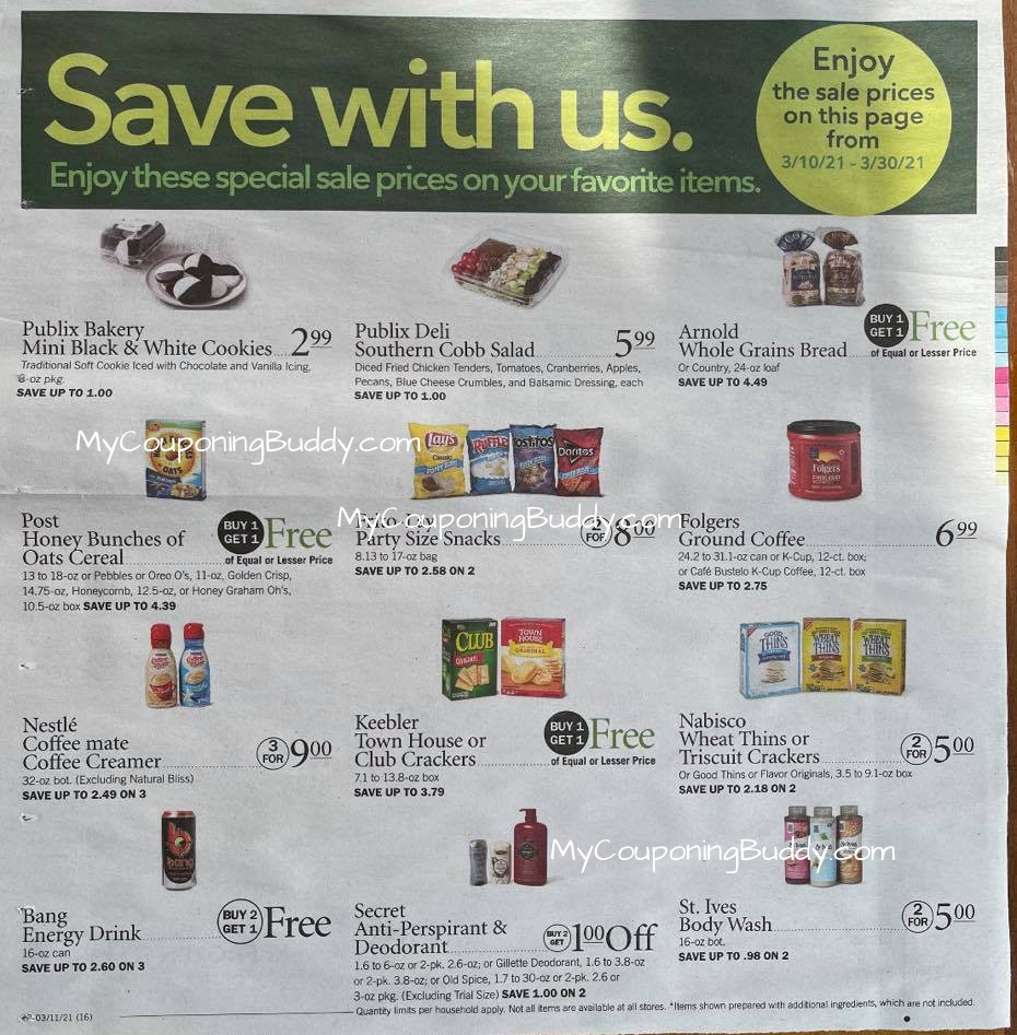 Publix EARLY AD PREVIEW 3/10/21 TO 3/16/21 OR 3/11/21 TO 3/17/21