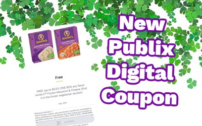 New Publix Digital Coupon for FREE Frozen Macaroni & Cheese
