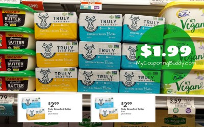 Truly Grass-fed Butter $1.99 at Publix